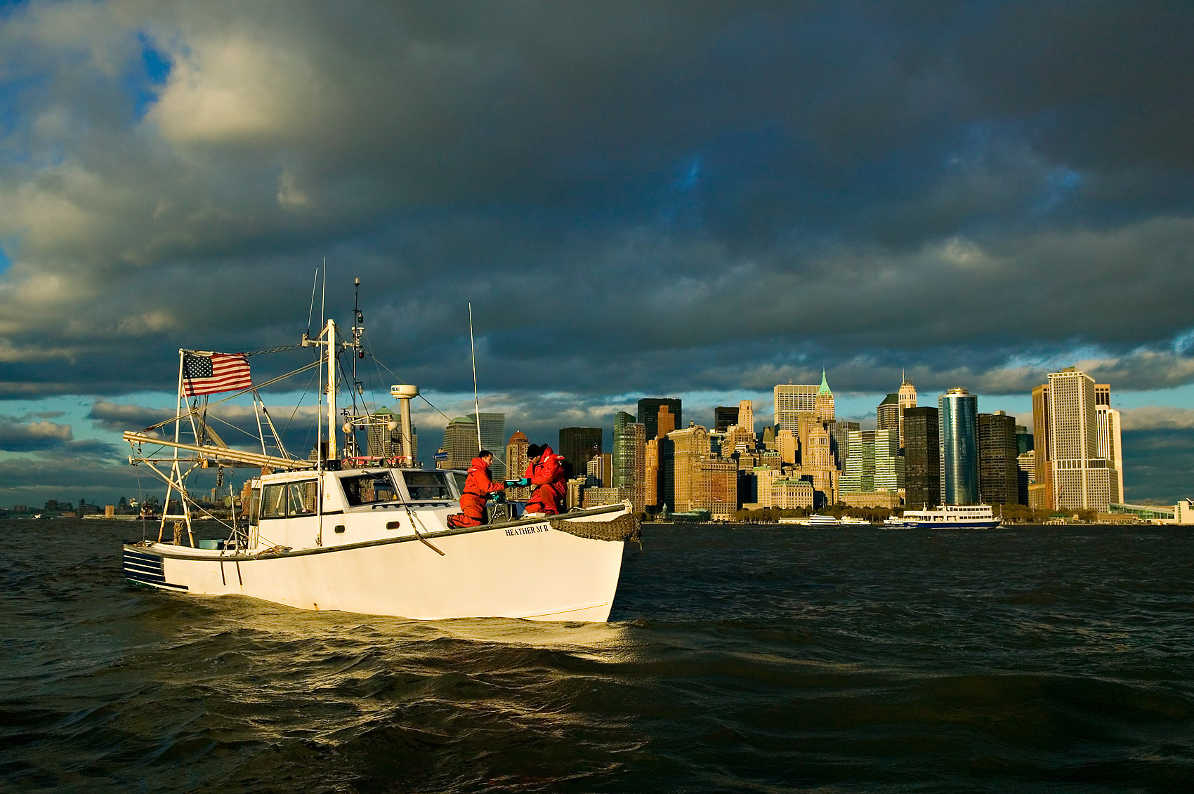 NYC Hudson River, EPA water study project.